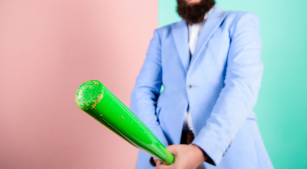 hard erection baseball bat