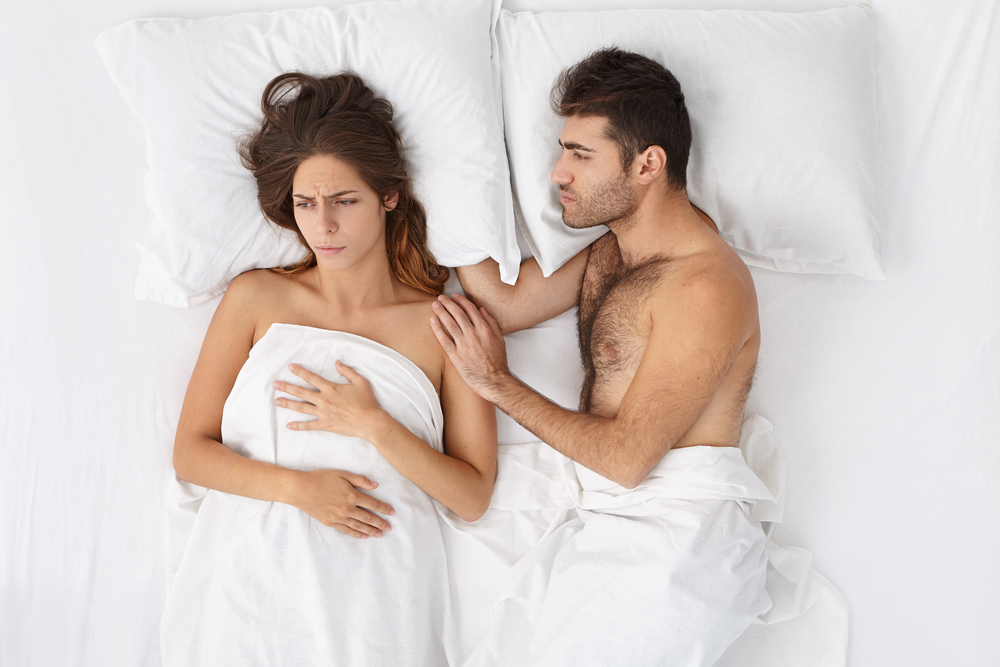 woman not interested in sex