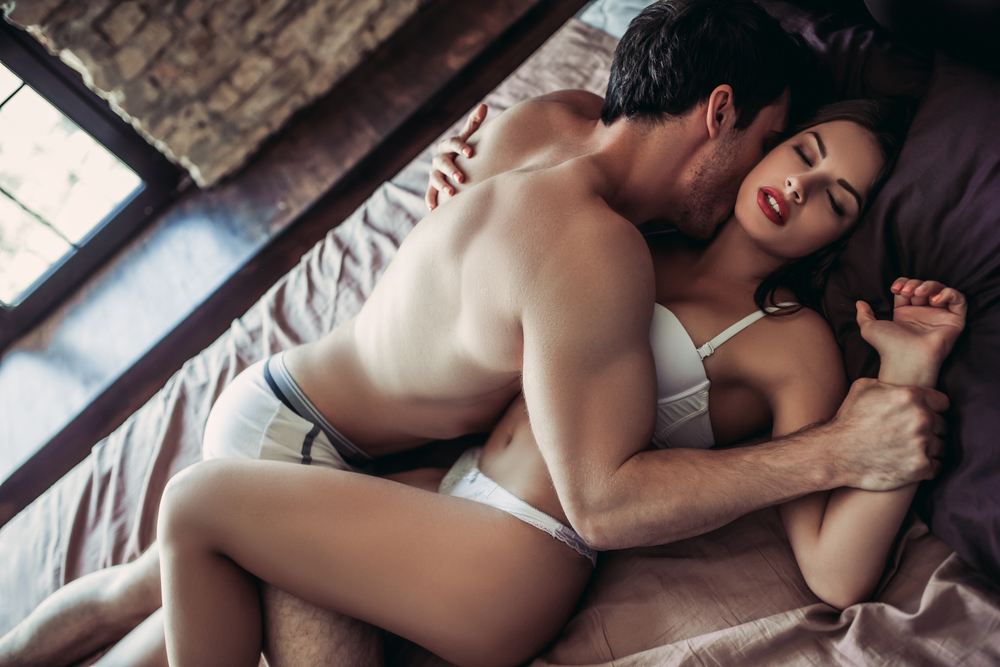intimate bedroom moments