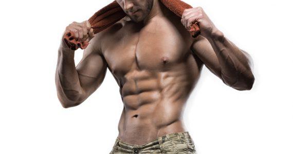 muscular shirtless guy
