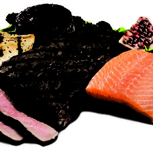 high protein food salmon meat