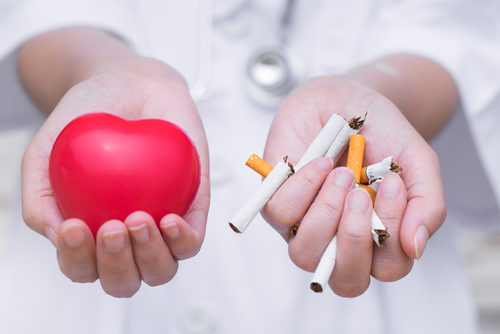 stop smoking for healthy heart