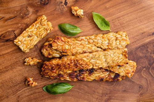 protein rich tempeh
