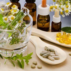 chamomile botanical herbal capsules essential oils