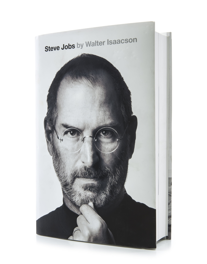 Steve Jobs by Walter Isaacson, book