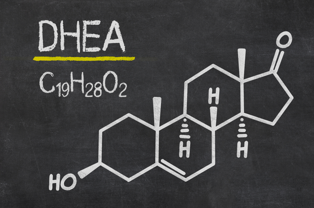 DHEA dehydroepiandrosterone chemical structure