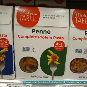 Modern table pasta brand